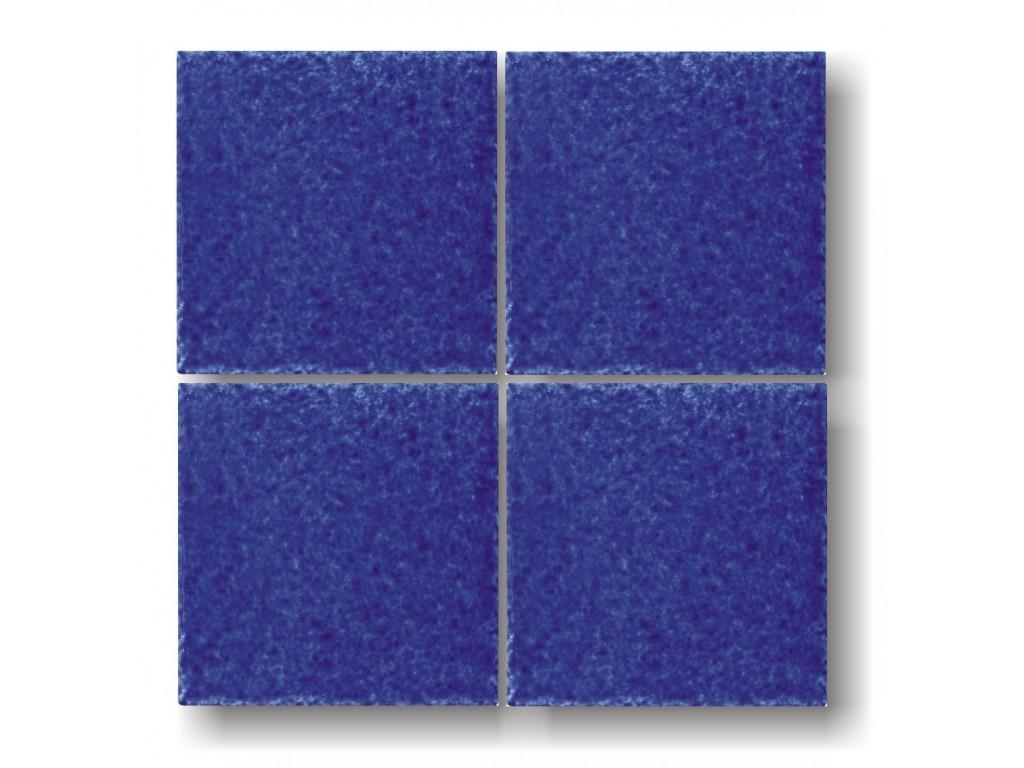 Piastrella blu collezione bocciardata