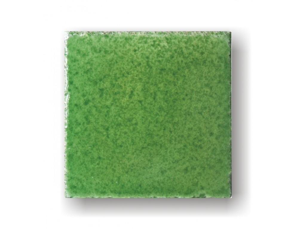 Piastrella verde prato collezione bocciardata