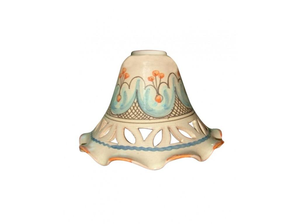 Applique campana traforata 28 floreale barocco collezione applique