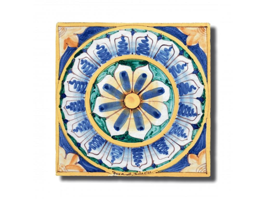 Piastrelle Decorative Per Tavoli piastrella decoro deruta - collezione cotto & inserti